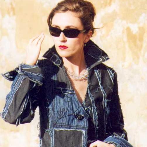 Gali fashion design Jeans-Kollektion: Jeansmantel