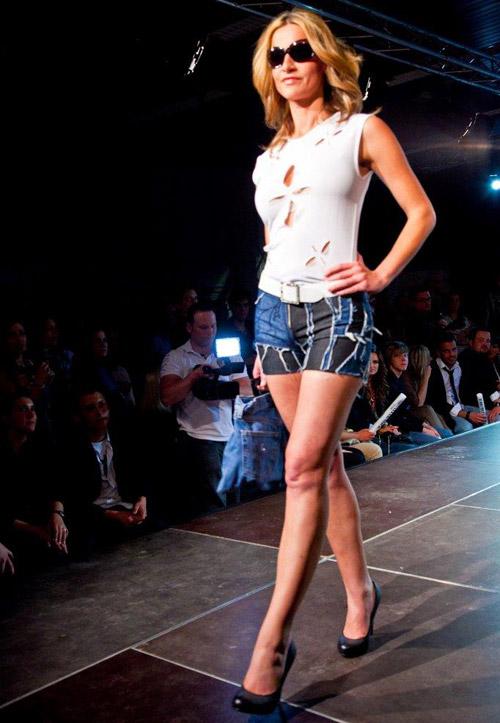 Modenschau Jeans-Pants