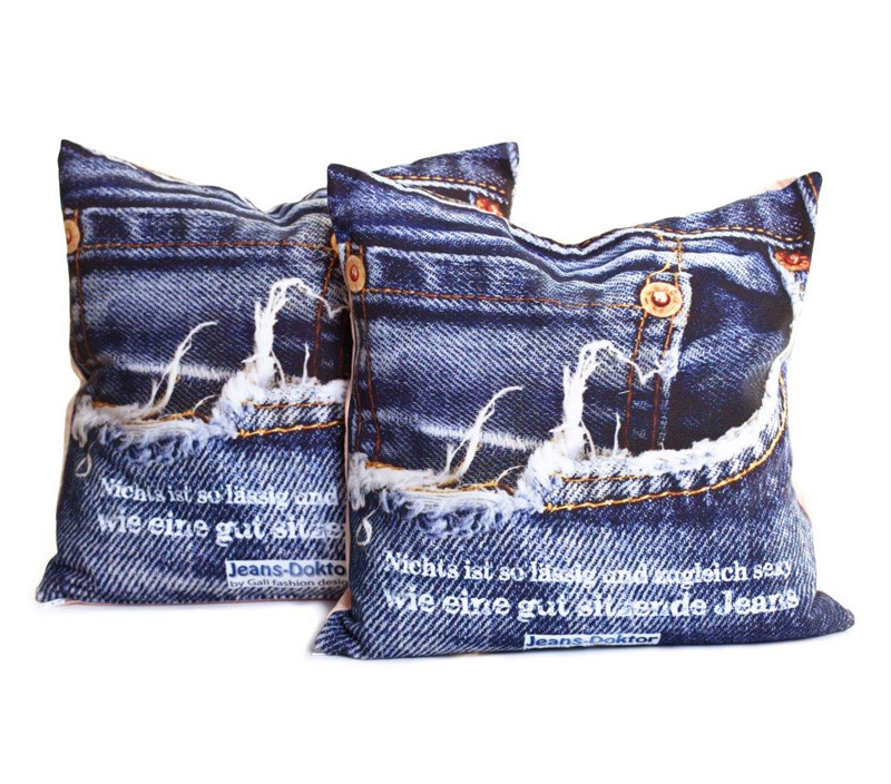 Kissenbezug Jeans-Doktor