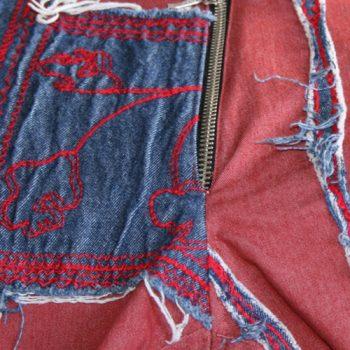 Jeans-Kollektion mit aufwändigen Verziehrugnen